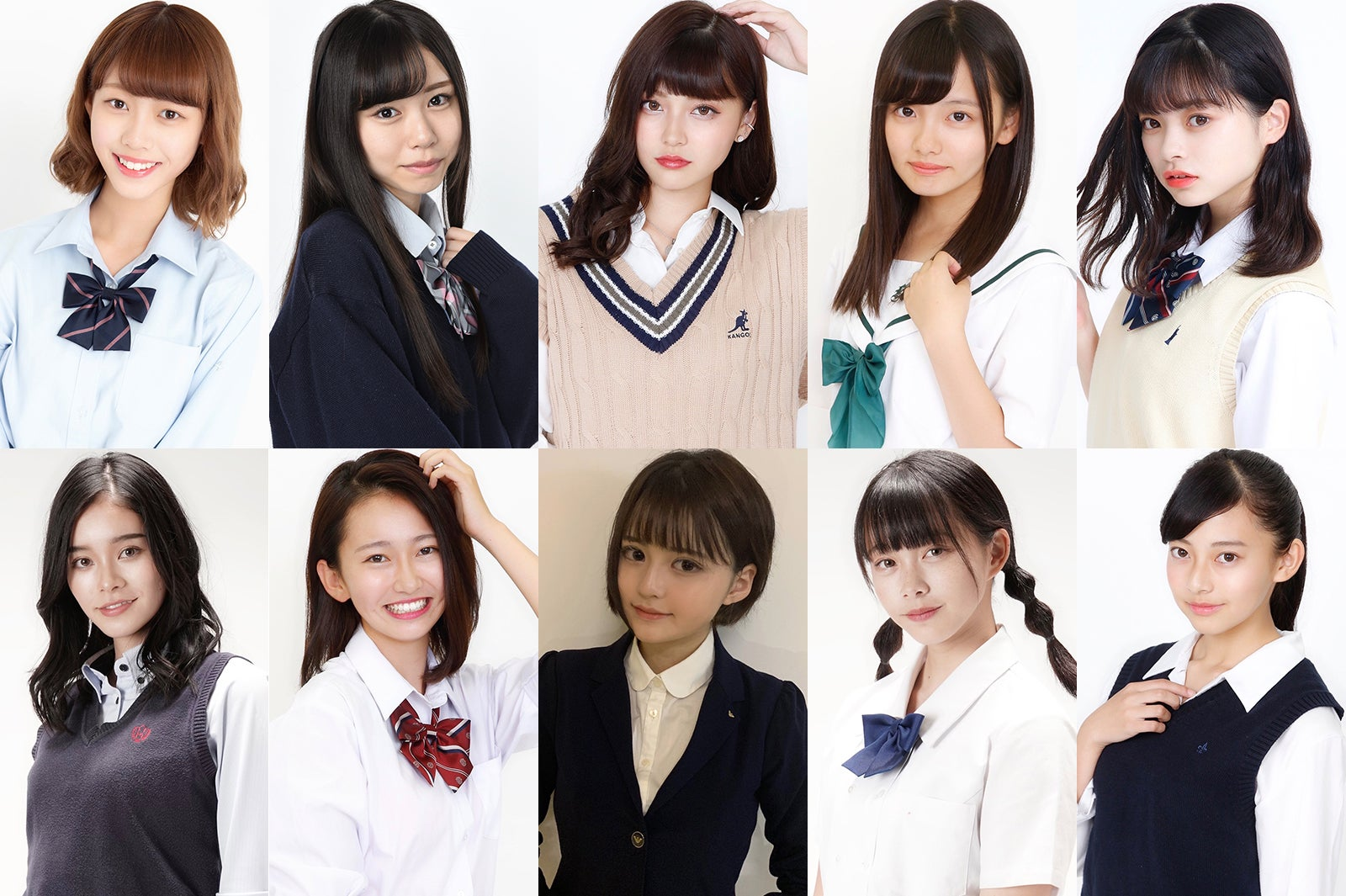 「女子高生ミスコン2019」全国ファイナリスト10人